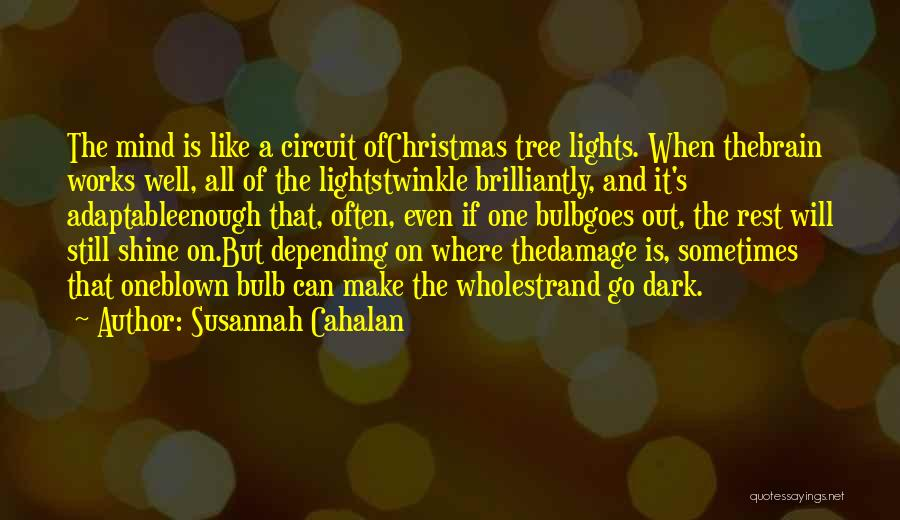 Tree With Lights Quotes By Susannah Cahalan