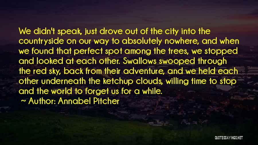 Trees And Clouds Quotes By Annabel Pitcher