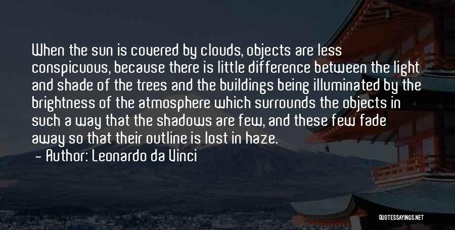 Trees And Clouds Quotes By Leonardo Da Vinci