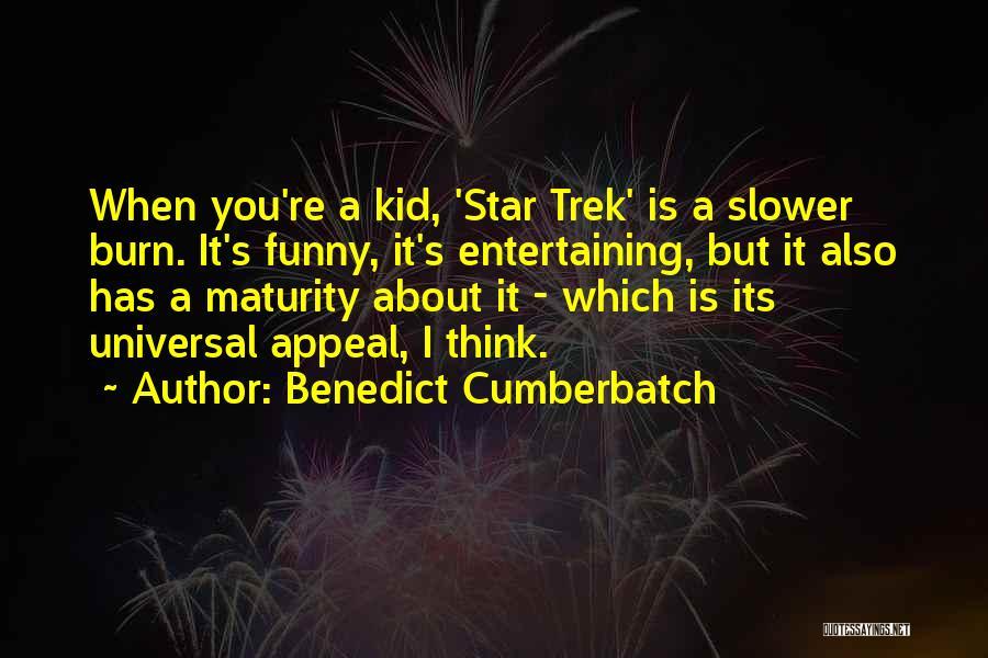 Trek Quotes By Benedict Cumberbatch
