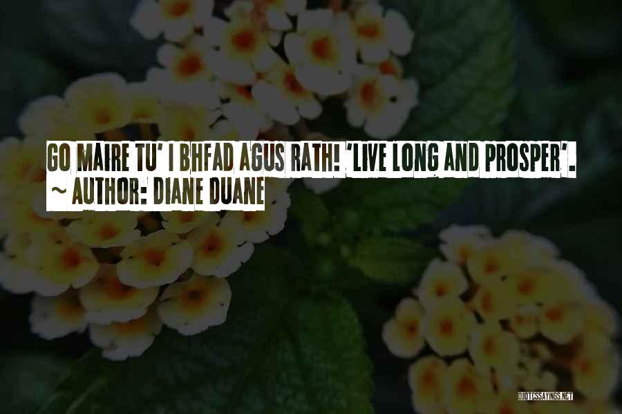 Trek Quotes By Diane Duane