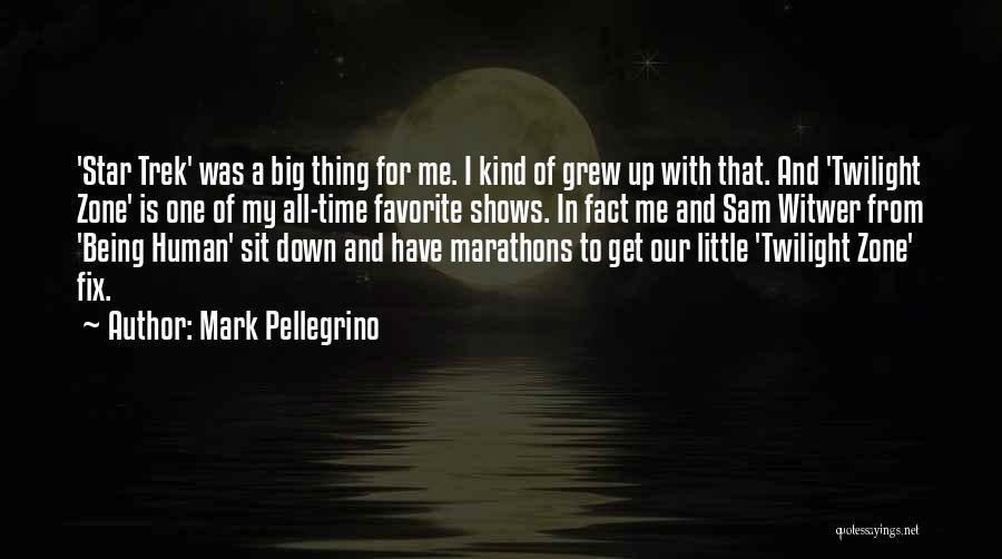 Trek Quotes By Mark Pellegrino