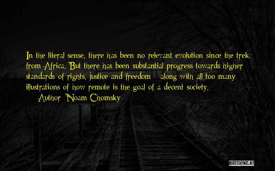 Trek Quotes By Noam Chomsky