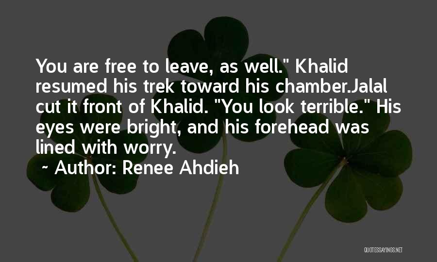 Trek Quotes By Renee Ahdieh