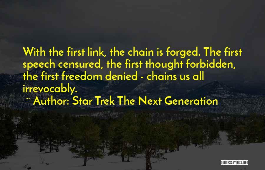 Trek Quotes By Star Trek The Next Generation