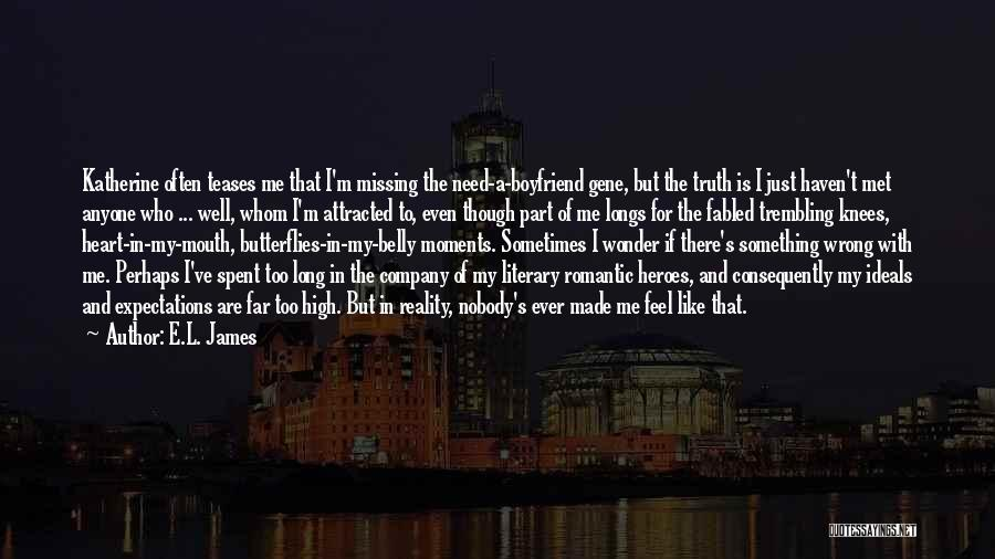 Trembling Quotes By E.L. James