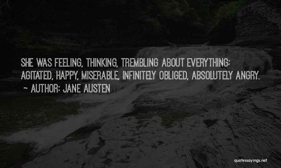 Trembling Quotes By Jane Austen
