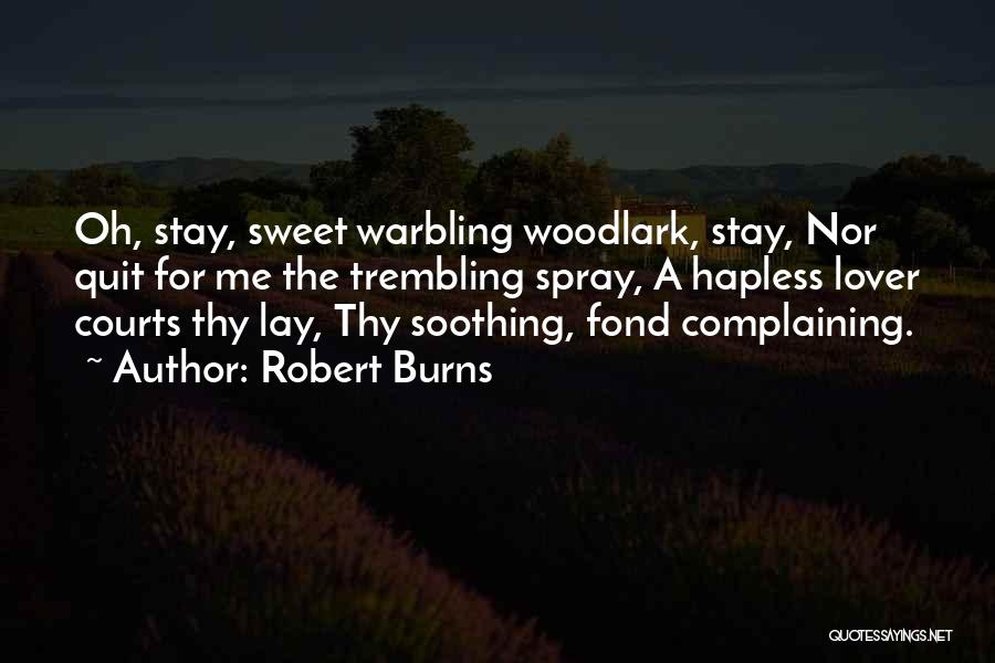 Trembling Quotes By Robert Burns