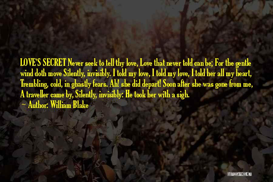 Trembling Quotes By William Blake