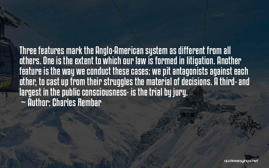 Trial By Jury Quotes By Charles Rembar