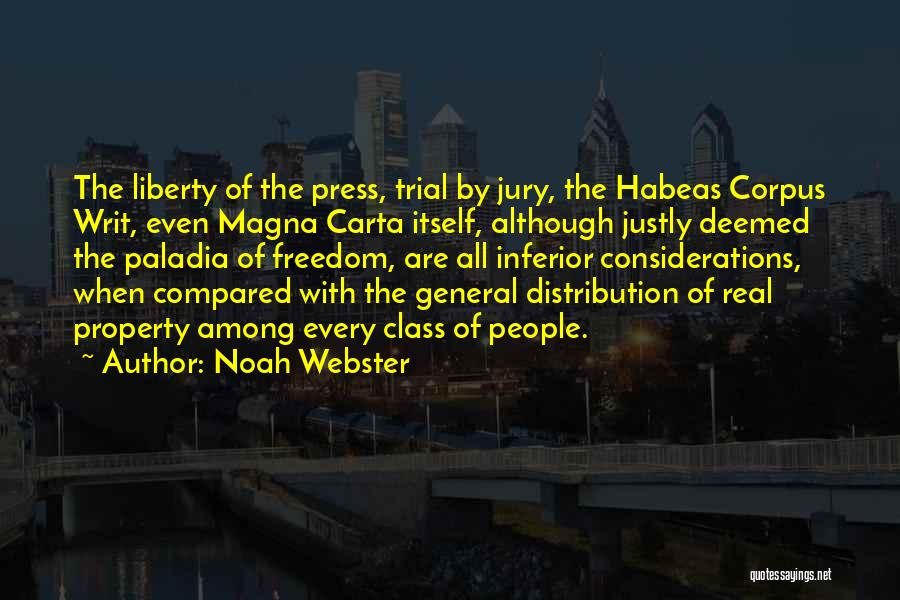 Trial By Jury Quotes By Noah Webster