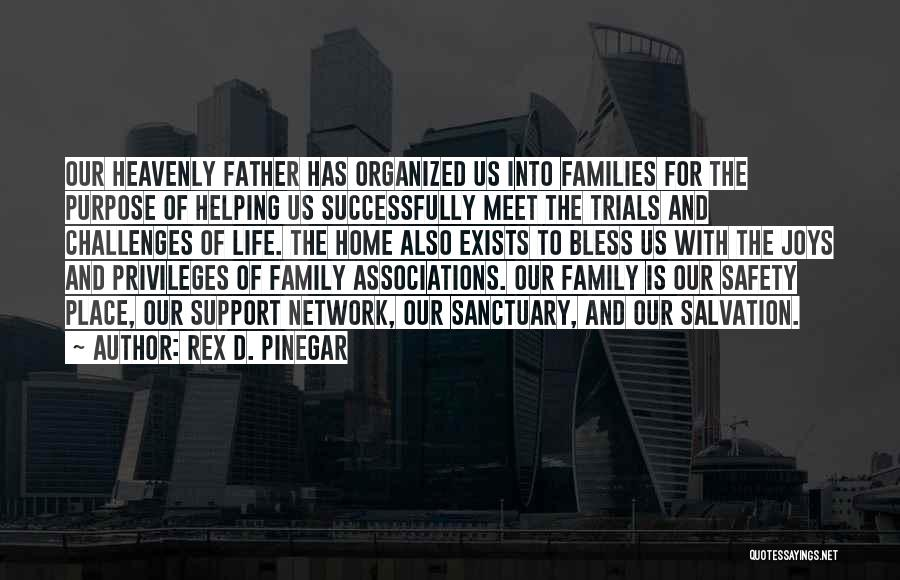 Trials And Challenges In Life Quotes By Rex D. Pinegar