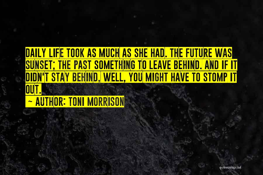 Trials And Challenges In Life Quotes By Toni Morrison