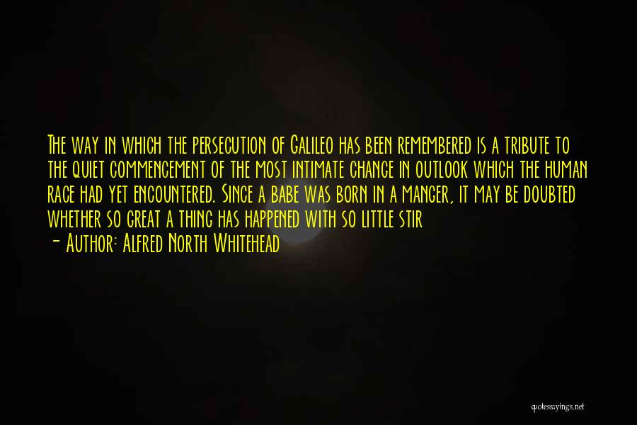 Tribute Quotes By Alfred North Whitehead