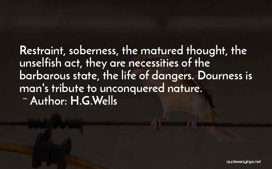 Tribute Quotes By H.G.Wells