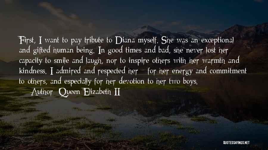 Tribute Quotes By Queen Elizabeth II