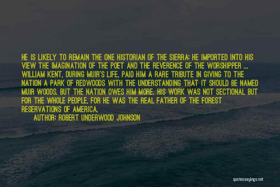 Tribute Quotes By Robert Underwood Johnson