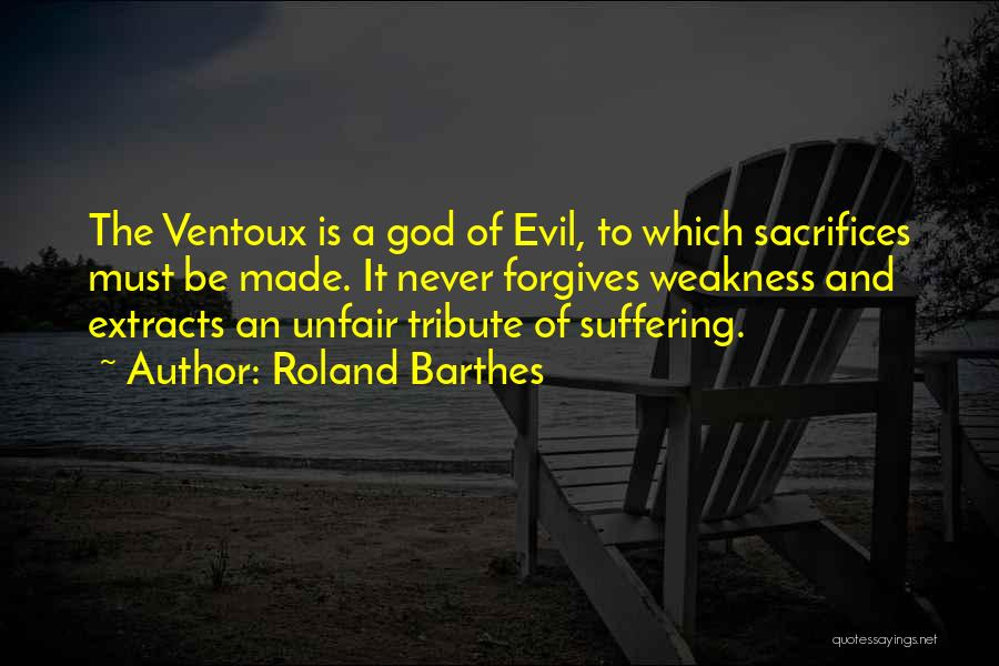Tribute Quotes By Roland Barthes