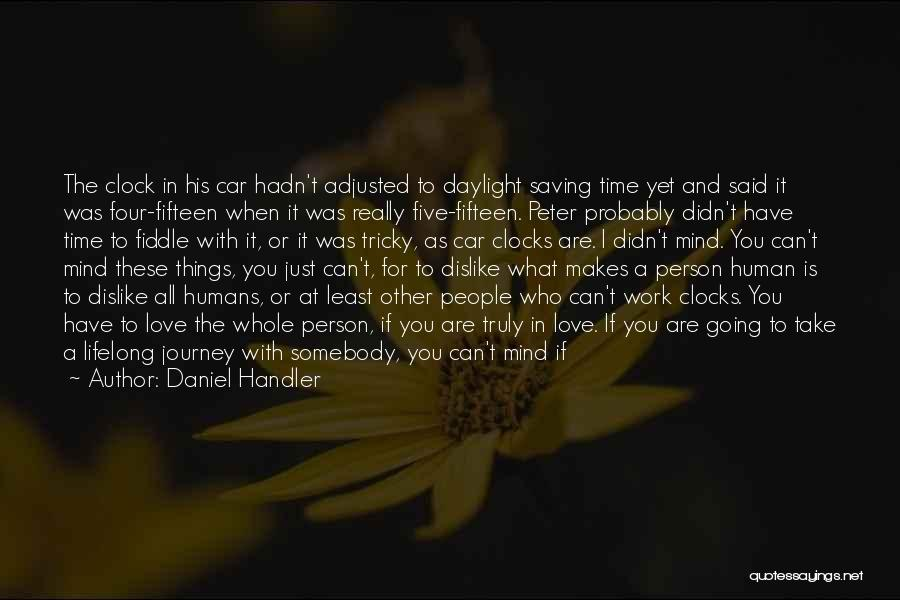 Tricky Mind Quotes By Daniel Handler