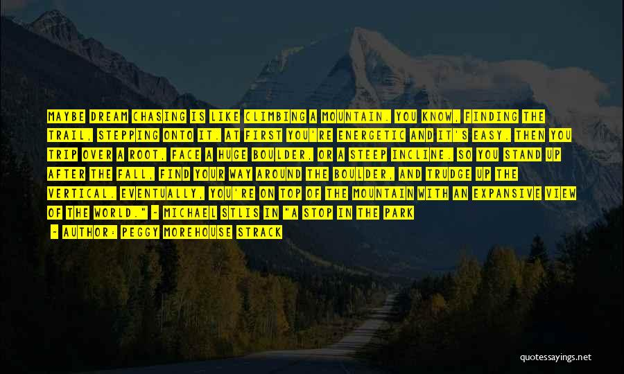 Trip Around The World Quotes By Peggy Morehouse Strack