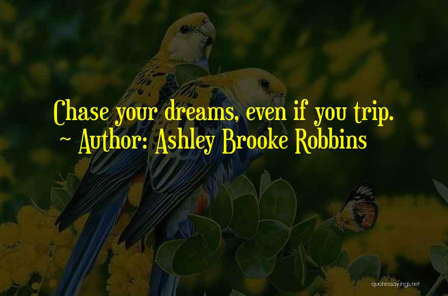 Trip To Nowhere Quotes By Ashley Brooke Robbins