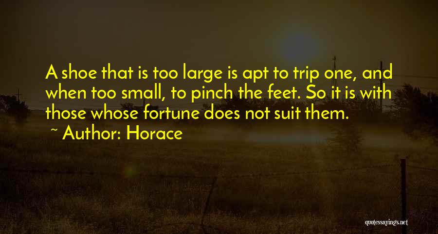 Trip To Nowhere Quotes By Horace