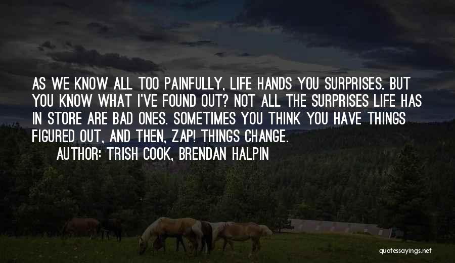 Trish Cook, Brendan Halpin Quotes 2230249