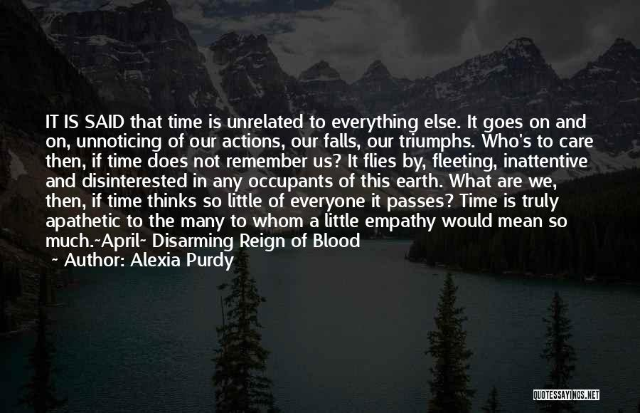 Triumphs Quotes By Alexia Purdy