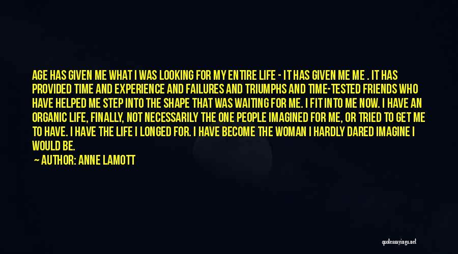 Triumphs Quotes By Anne Lamott