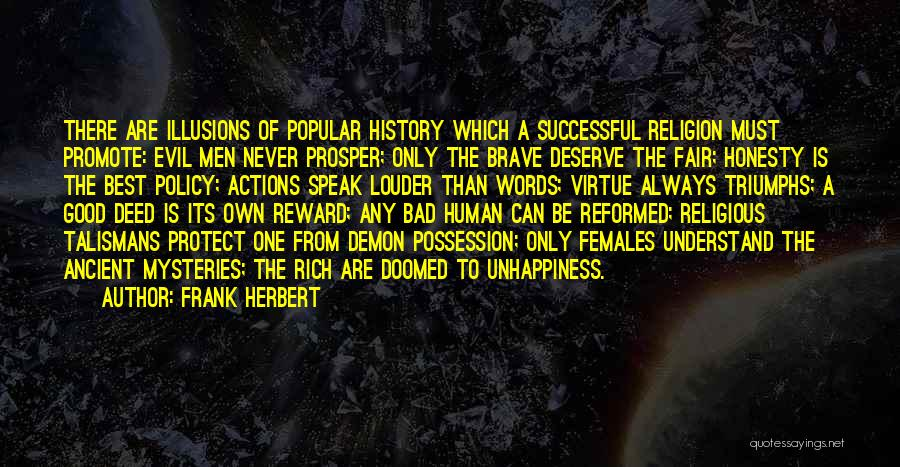 Triumphs Quotes By Frank Herbert