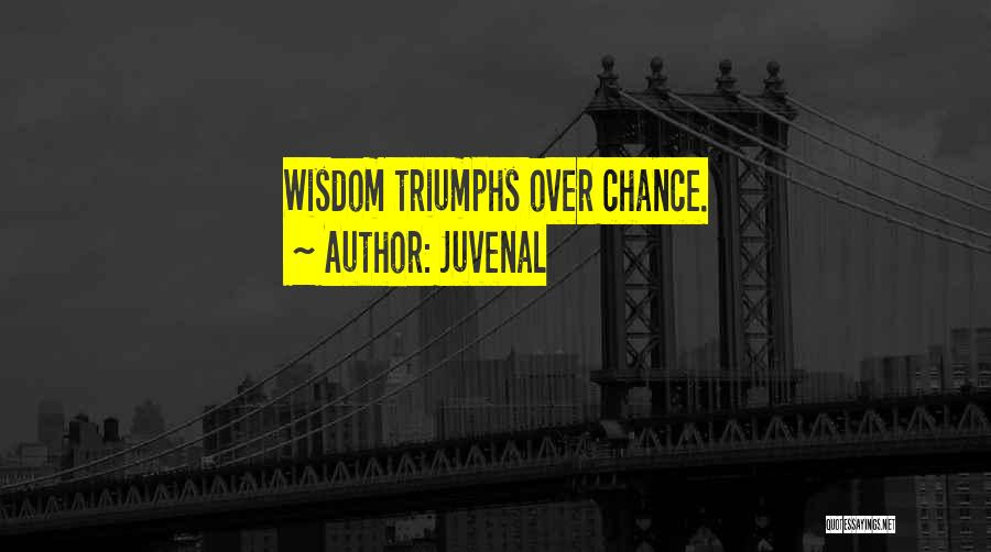 Triumphs Quotes By Juvenal