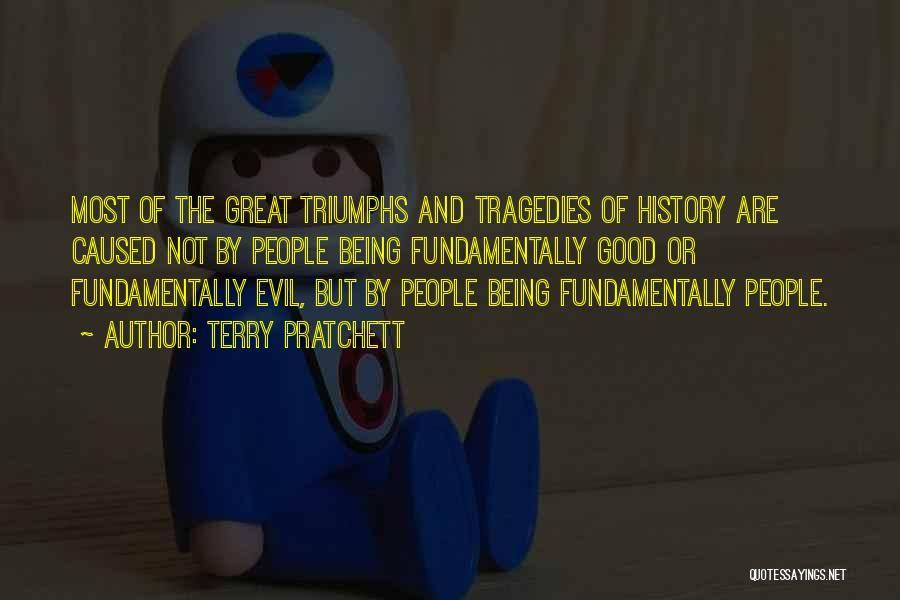 Triumphs Quotes By Terry Pratchett