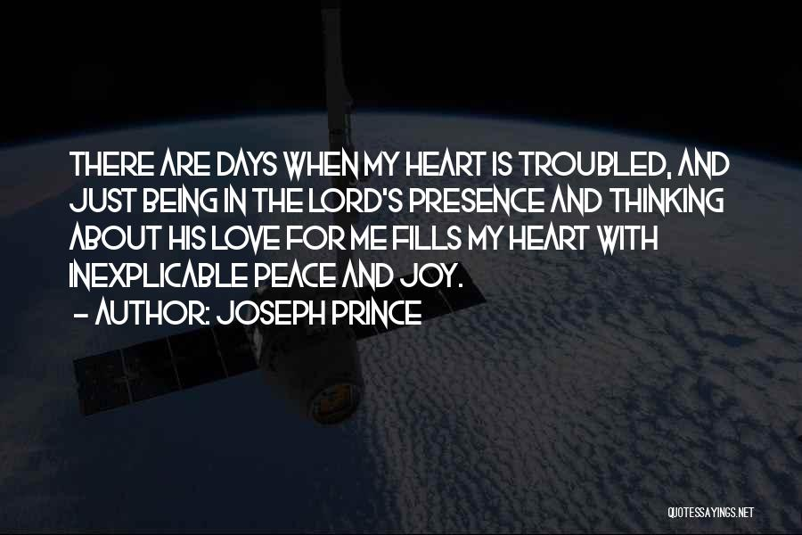 Troubled Love Quotes By Joseph Prince