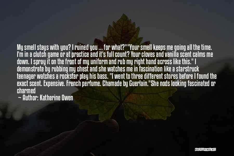 Troubled Love Quotes By Katherine Owen
