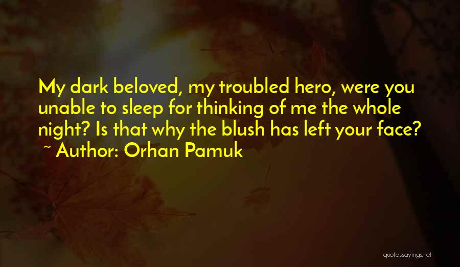 Troubled Love Quotes By Orhan Pamuk