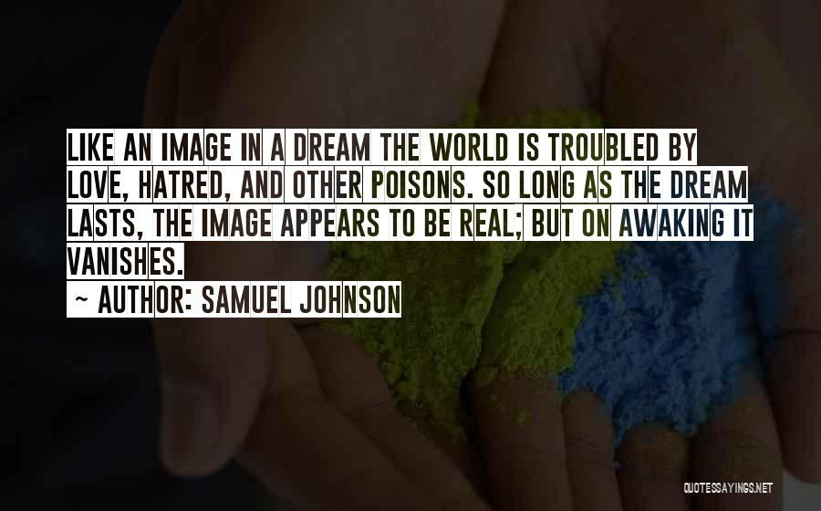 Troubled Love Quotes By Samuel Johnson