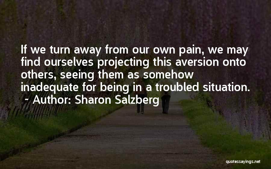 Troubled Love Quotes By Sharon Salzberg