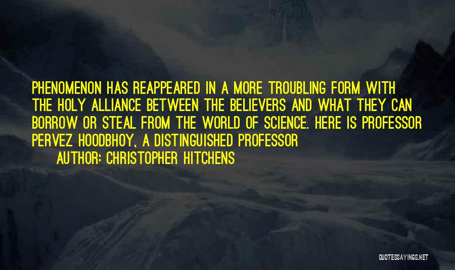 Troubling Quotes By Christopher Hitchens