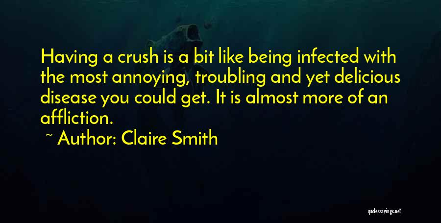 Troubling Quotes By Claire Smith
