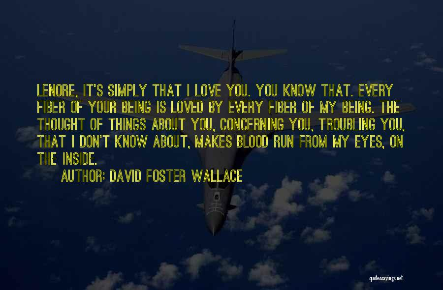 Troubling Quotes By David Foster Wallace