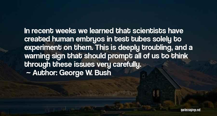Troubling Quotes By George W. Bush
