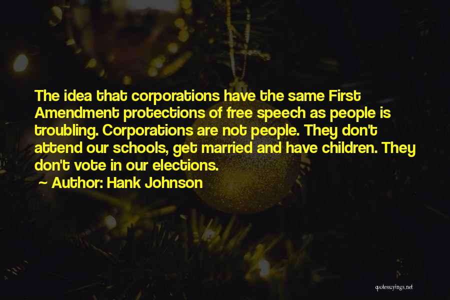 Troubling Quotes By Hank Johnson