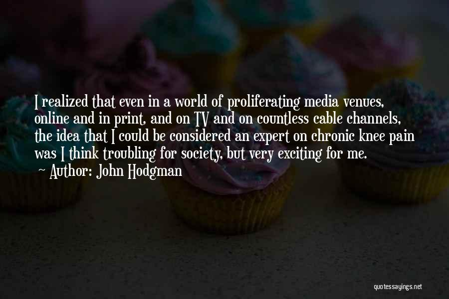 Troubling Quotes By John Hodgman