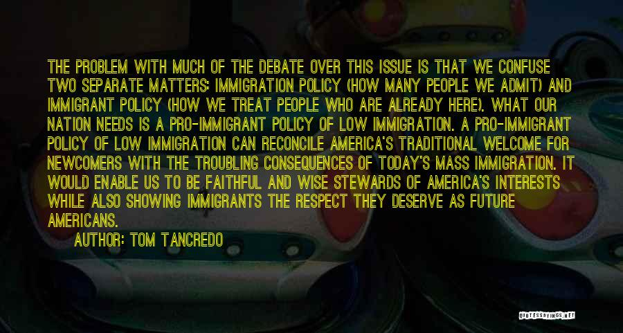 Troubling Quotes By Tom Tancredo