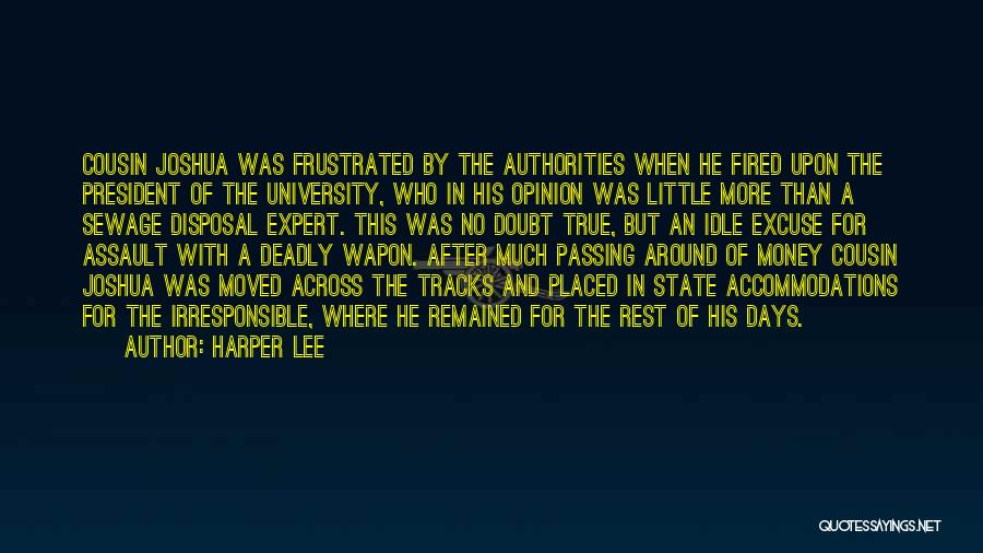 True And Funny Quotes By Harper Lee