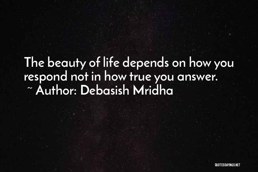 True Beauty Inspirational Quotes By Debasish Mridha