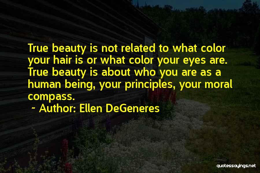 True Beauty Inspirational Quotes By Ellen DeGeneres