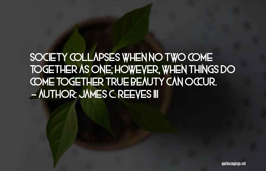 True Beauty Inspirational Quotes By James C. Reeves III