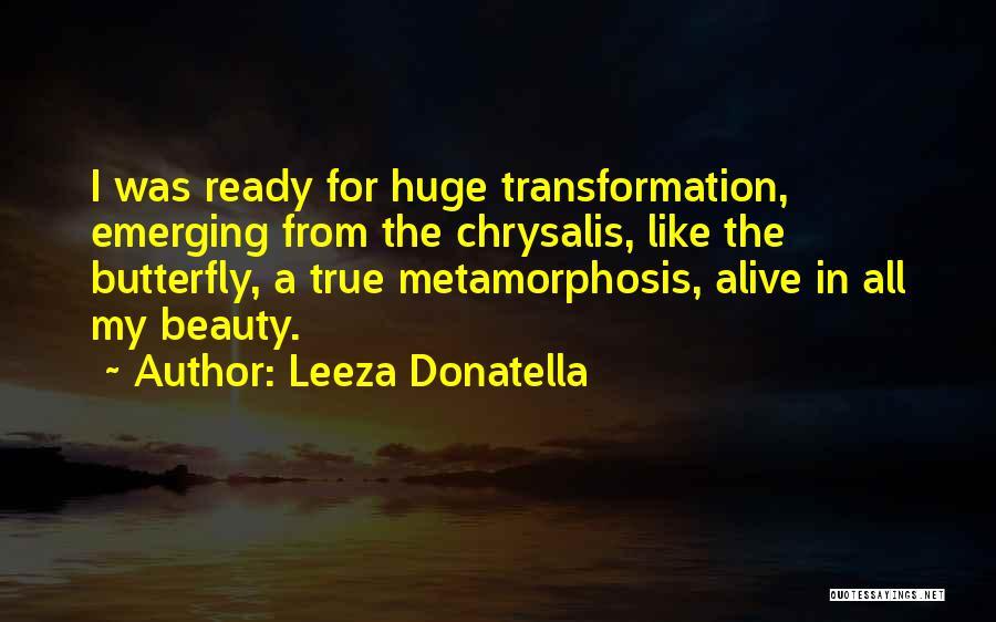 True Beauty Inspirational Quotes By Leeza Donatella