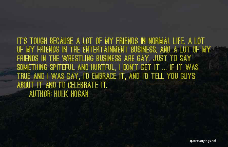 True But Hurtful Quotes By Hulk Hogan
